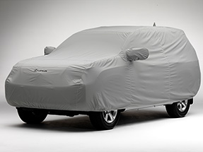Car cover for the Lexus GX