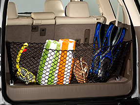 Cargo net envelope for the Lexus GX