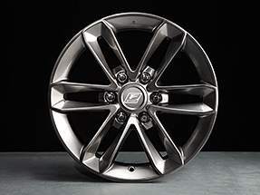 F SPORT 18-in Alloy wheels for the Lexus GX