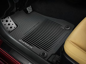 Lexus RC Accessory – ALL-WEATHER FLOOR MATS