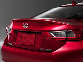 Lexus RC Accessory – REAR SPOILER