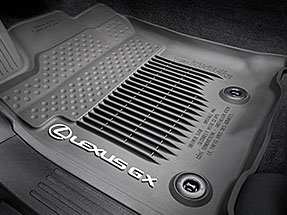 Lexus GX Accessory – ALL-WEATHER FLOOR LINERS