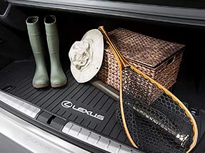 Lexus LS Accessory – ALL-WEATHER TRUNK TRAY.