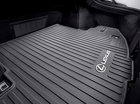 Lexus all-weather trunk tray.