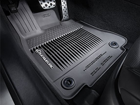 Lexus RC Accessory – ALL-WEATHER FLOOR LINERS
