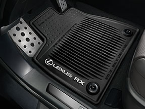 2018 Lexus RX Accessory: All-Weather Floor Mats