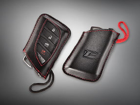 Lexus LS Accessory – KEY GLOVES WITH F LOGO.