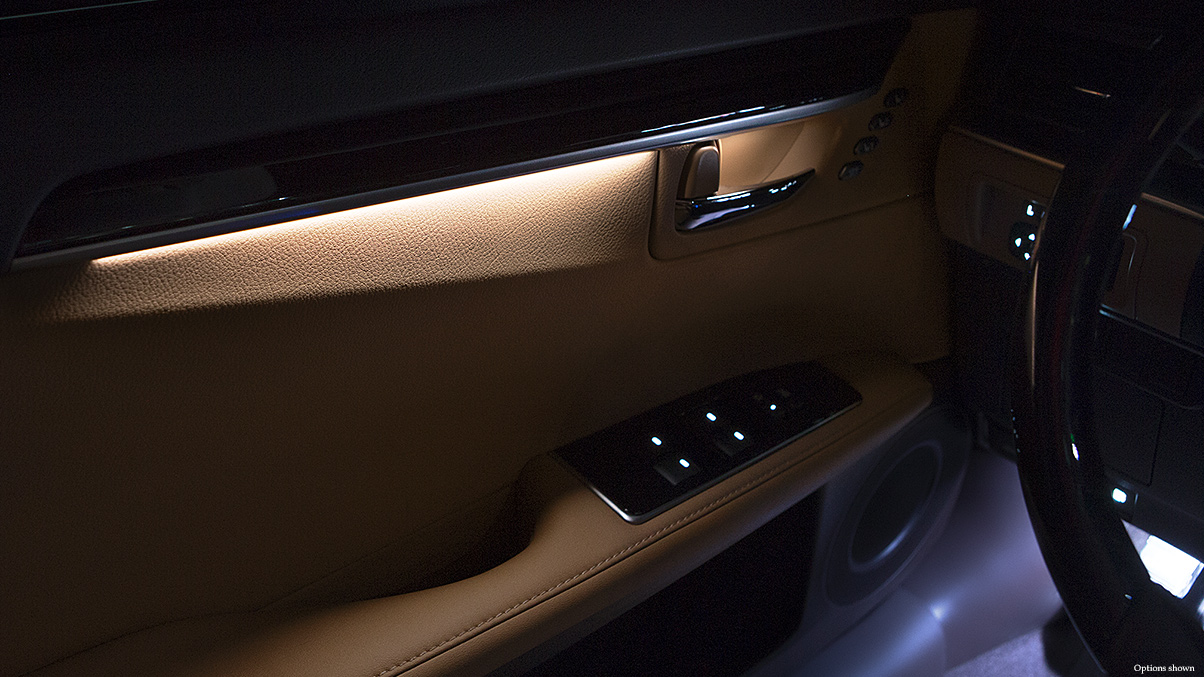 Comfort design wilde lexus sarasota for Ambient lighting interior design