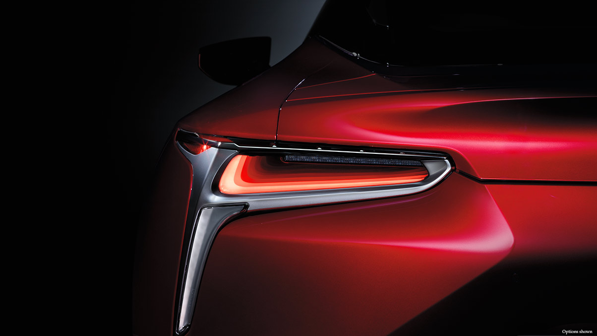 2018 Lexus LC Safety Feature