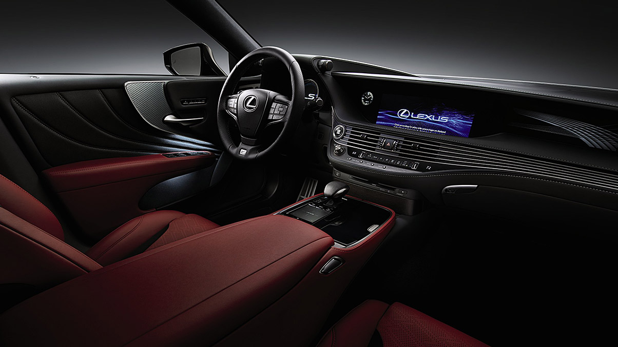 The Lexus Ls Is Packed With Comfort Jump Right In And