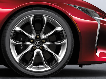 Image of 21-INCH FORGED ALLOY WHEELS