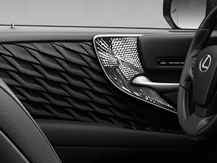 Image of HAND-PLEATED INTERIOR DOOR TRIM