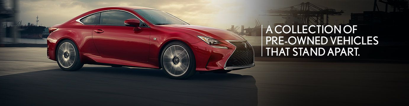Pre Owned Lexus >> L Certified Browse All Models Lexus Certified Pre Owned