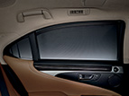 POWER REAR-DOOR SUNSHADES