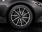 19-INCH SPLIT-10-SPOKE FORGED ALLOY WHEELS BY BBS