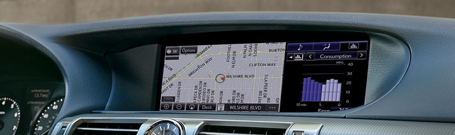 Navigation System with 12.3-inch split-screen multimedia display
