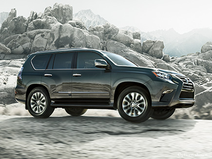 Lexus GX Performance Features Tile