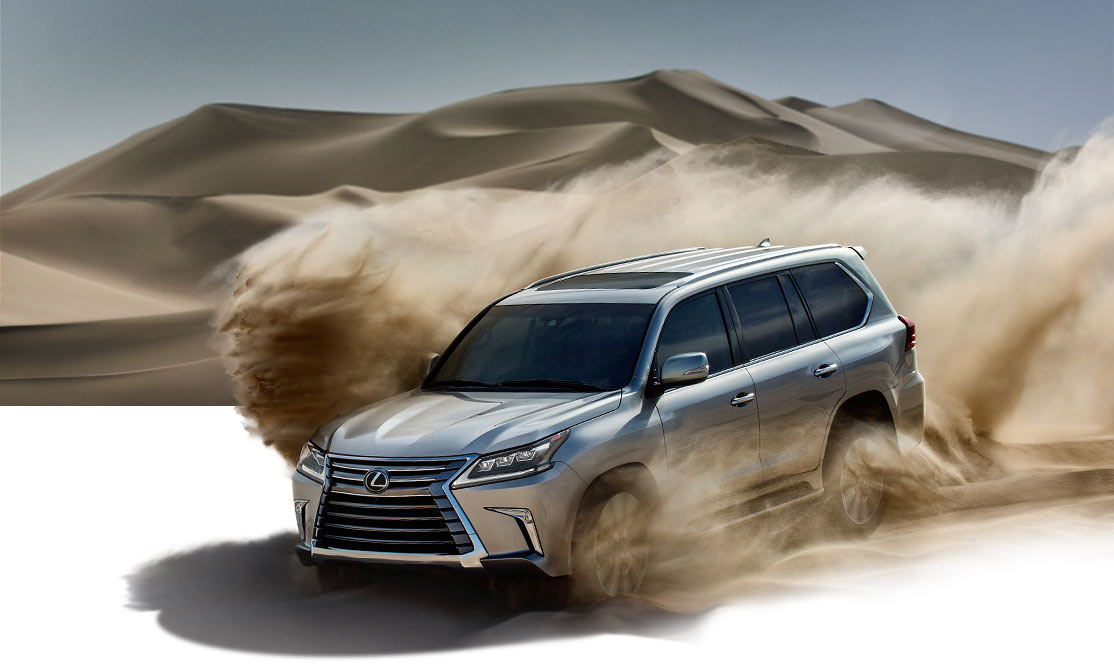 2019 Lexus LX - Luxury SUV - Performance | Lexus.com