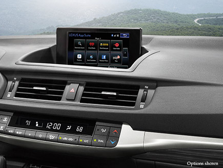 Lexus CTh Technology Features Detail
