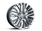 18-INCH SPLIT-10-SPOKE ALLOY WHEELS WITH HIGH-GLOSS FINISH (ES 350 Only)