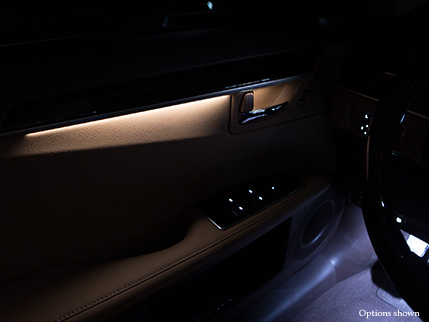 2016 lexus es comfort design for Ambient lighting interior design