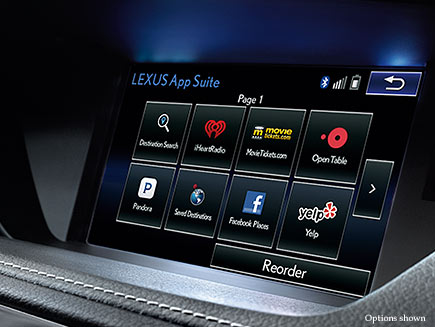 Lexus ES Technology Features Detail