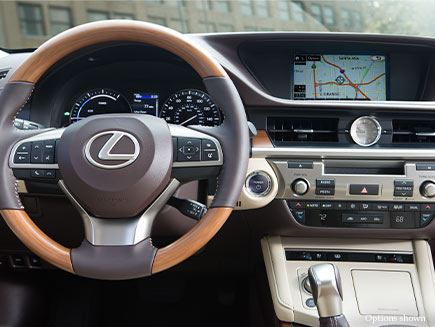 Lexus ES Comfort and Design Features