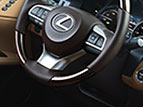 Lexus ES Comfort and Desgn Features Icons