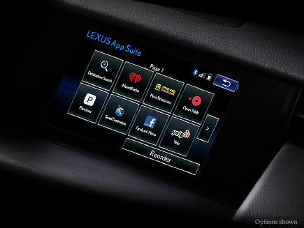 Lexus IS Technology Features Detail