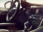 PERFORATED LEATHER-TRIMMED F SPORT STEERING WHEEL AND SHIFT KNOB