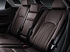 POWER-FOLDING, 60/40-SPLIT, HEATED REAR SEATS AND HEATED AND VENTILATED FRONT SEATS (RX 350, RX 450h ONLY)