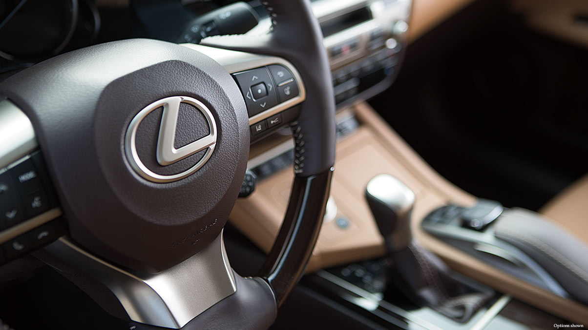 The Lexus ES is packed with comfort Jump right in and experience