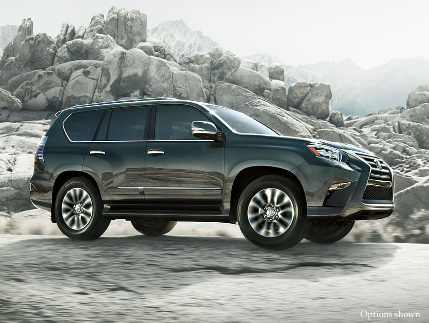 Exterior shot of the 2017 Lexus GX 460.