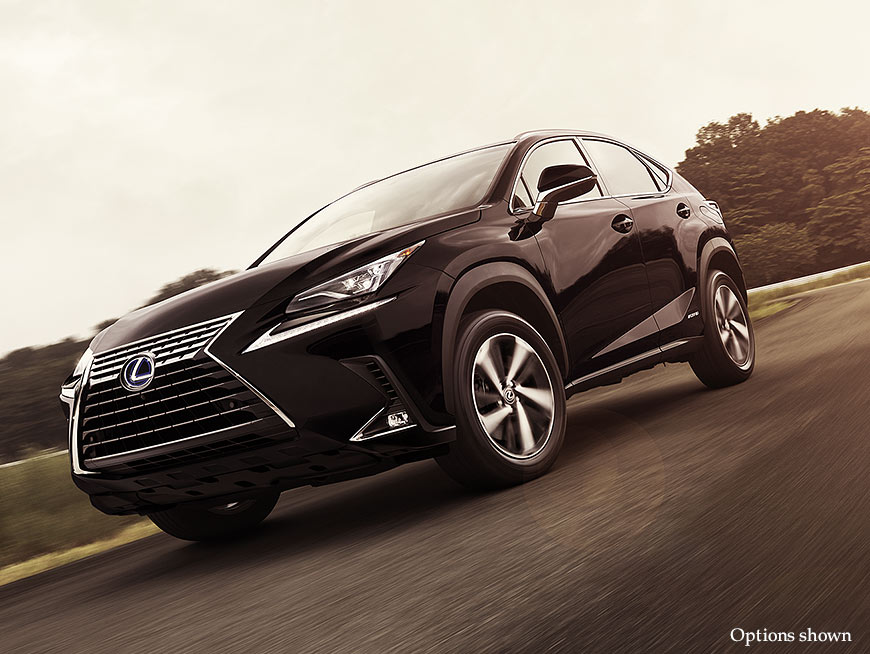 2018 lexus midsize suv. modren suv exterior shot of the 2018 lexus nx shown in caviar and lexus midsize suv