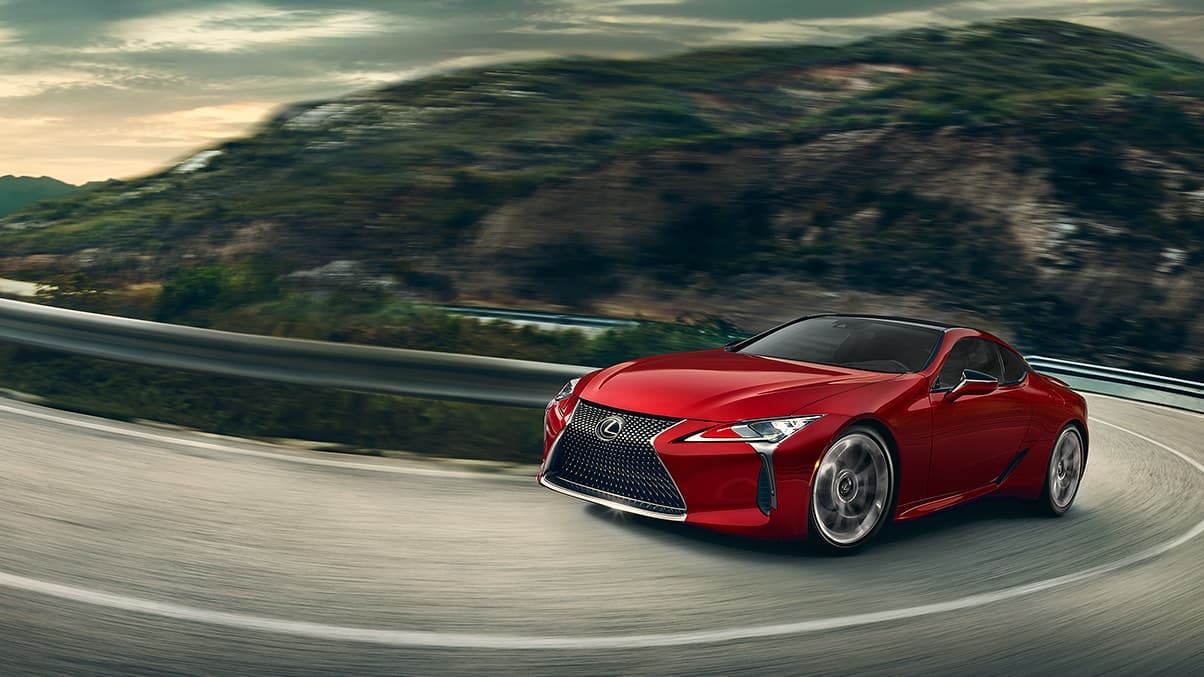 Lexus LC 10-speed Direct-Shift automatic transmission video.