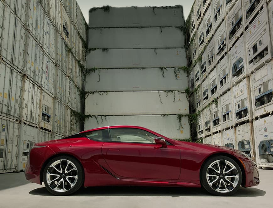 Lexus LC Expressive Design video.