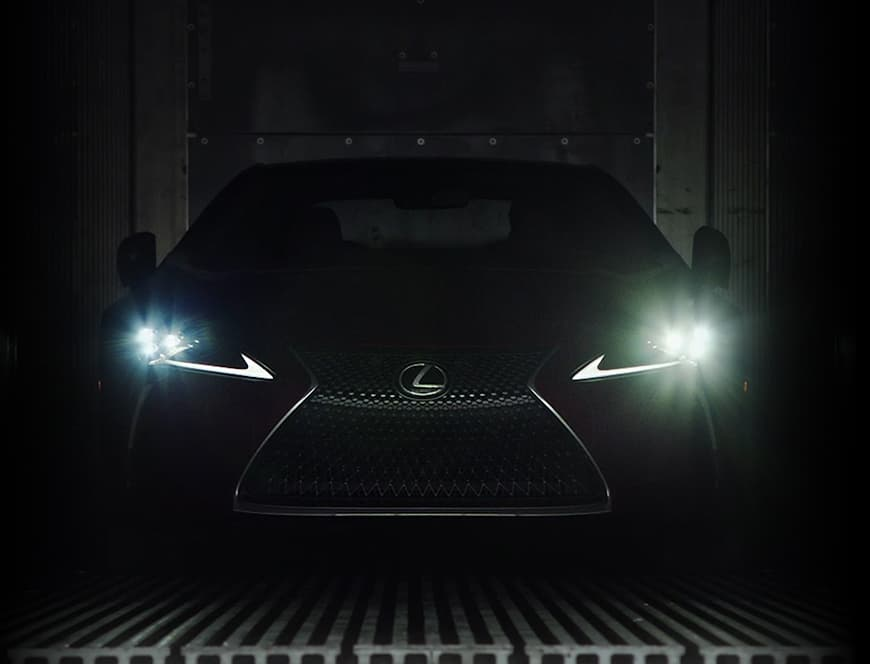 Lexus LC High-Performance Platform video.