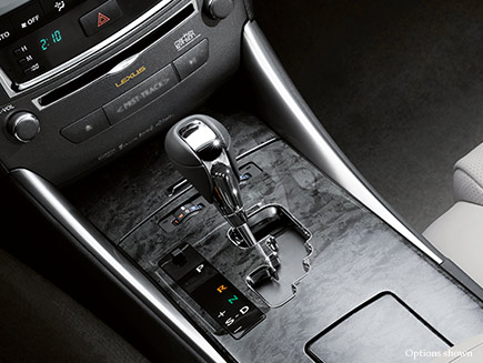 Lexus IS C Technology Features Detail