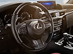Interior shot of the 2018 Lexus LX