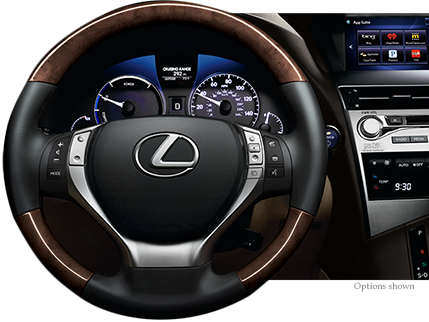 Lexus RX Comfort And Design