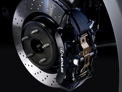 HIGH-PERFORMANCE BREMBO® BRAKES