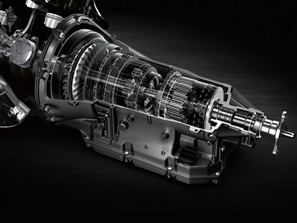 8-SPEED SPORT DIRECT-SHIFT TRANSMISSION