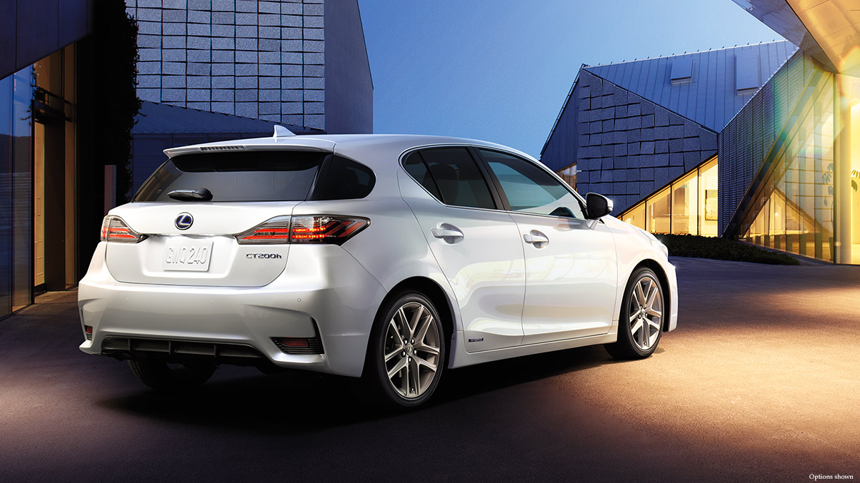 2015 Lexus CT 200h Rear