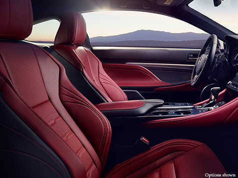 Lexus Rc 350 F Sport Red Interior