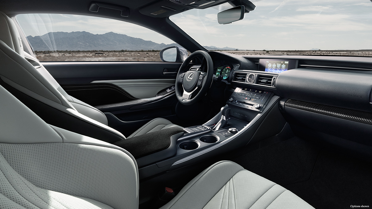View the Lexus RCF LC from all angles. When you are ready to test drive, contact Lexus of Palm Beach in West Palm Beach