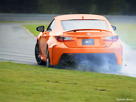 Overview video of the 2017 Lexus RC F