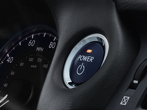 2017 Lexus CT Push-button Start/Stop feature.