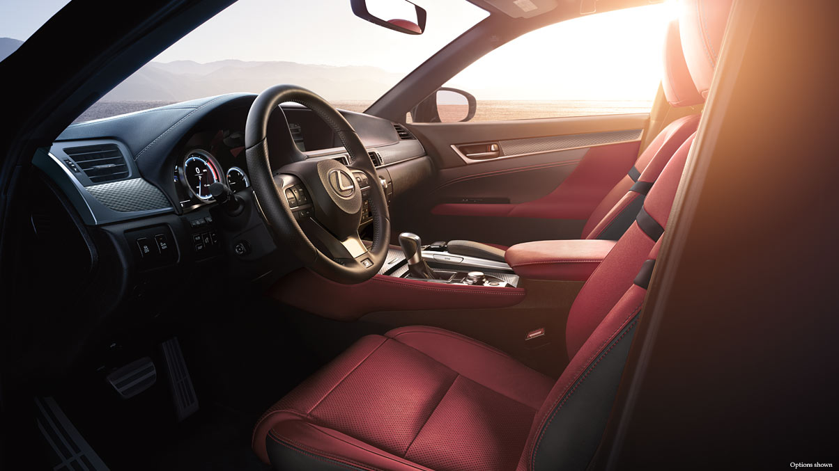 Lexus Gs 350 F Sport Red Interior