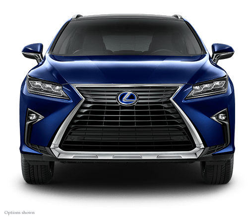 Exterior shot of the 2018 Lexus RX Hybrid.