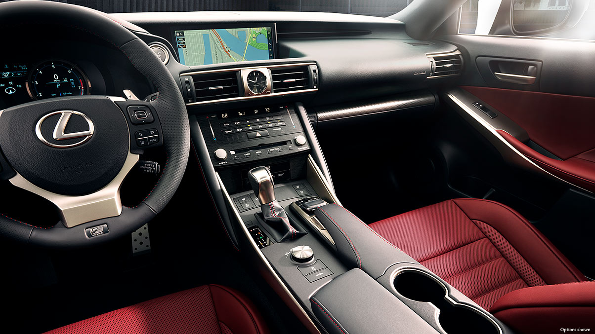 lexus is350 f sport interior. Black Bedroom Furniture Sets. Home Design Ideas
